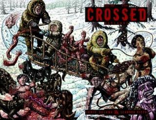 Crossed: Badlands #7 (Wrap Cover)