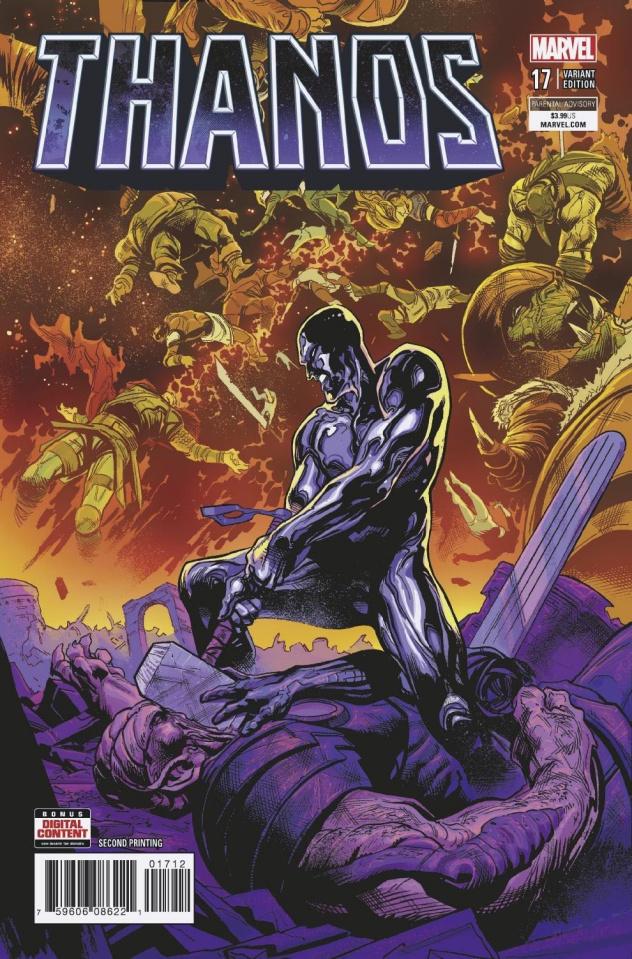 Thanos #17 (Shaw 2nd Printing)