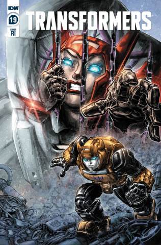 The Transformers #19 (10 Copy Williams II Cover)