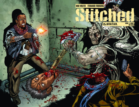 Stitched #11 (Wrap Cover)