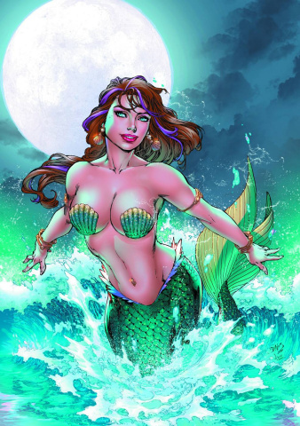 Grimm Fairy Tales: The Little Mermaid #2 (Super Rare Benes Cover)