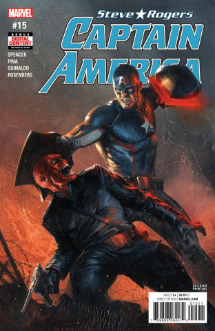 Captain America: Steve Rogers #15 (2nd Printing Dell'Otto Cover)