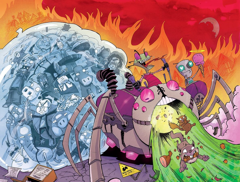 Invader Zim #1: Treasury Edition (Local Comic Shop Day)