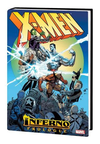 X-Men: Inferno Prologue (Silvestri Omnibus Cover)