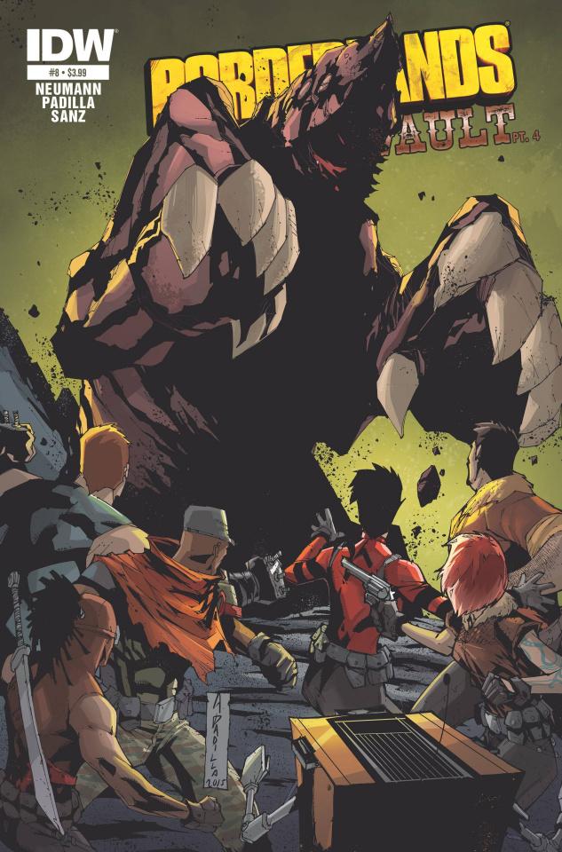Borderlands: The Fall of Fyrestone #8