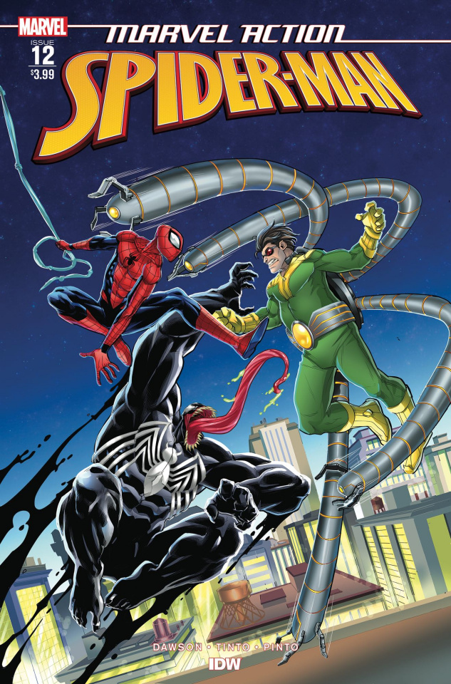 Marvel Action: Spider-Man #12 (Tinto Cover)