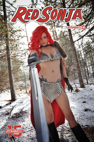 Red Sonja #7 (Cosplay Cover)