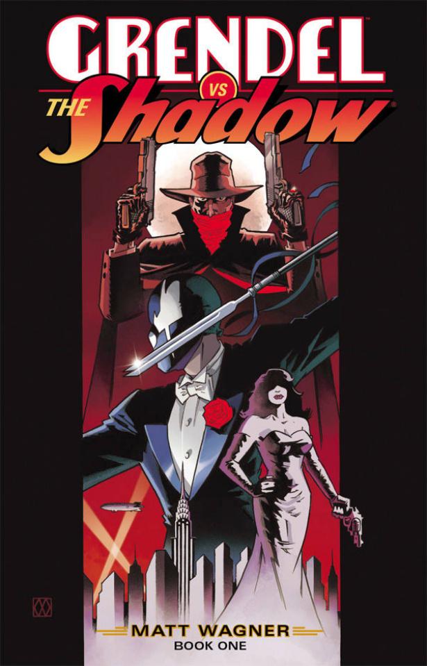 Grendel vs. The Shadow #1