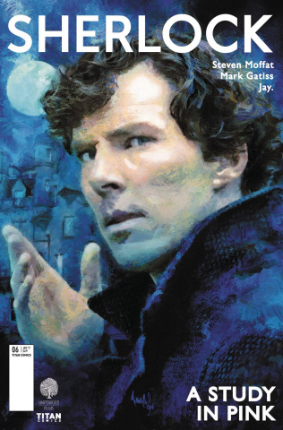 Sherlock: A Study in Pink #5 (Wheatley Cover)