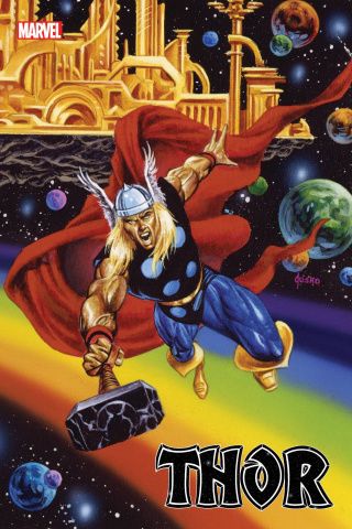 Thor #18 (Jusko Marvel Masterpieces Cover)