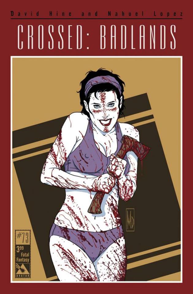 Crossed: Badlands #73 (Fatal Fantasy Cover)