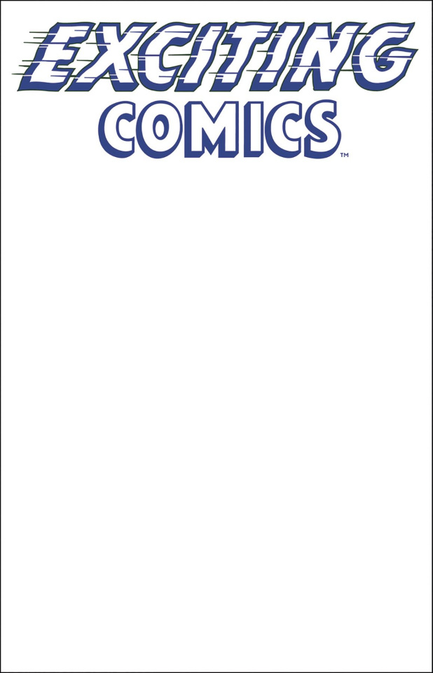 Exciting Comics #1 (Sketch Cover)