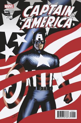 Captain America #700 (Cassaday Cover)