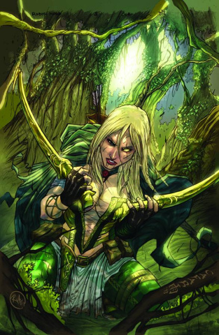 Grimm Fairy Tales: Robyn Hood - Wanted #5 (Cafaro Cover)