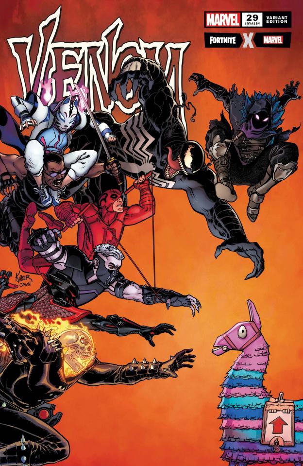 Venom #29 (Kuder Fortnite Cover)