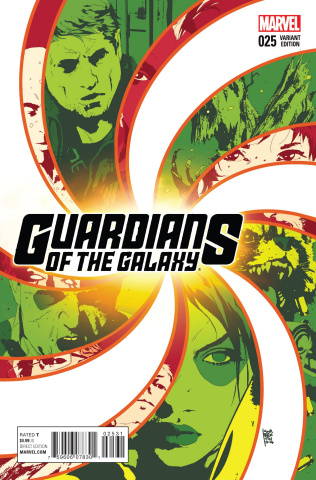 Guardians of the Galaxy #25 (Sorrentino Cover)