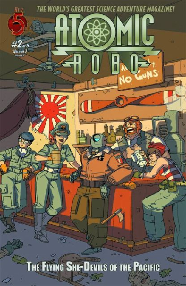 Atomic Robo: The Flying She-Devils of the Pacific #2