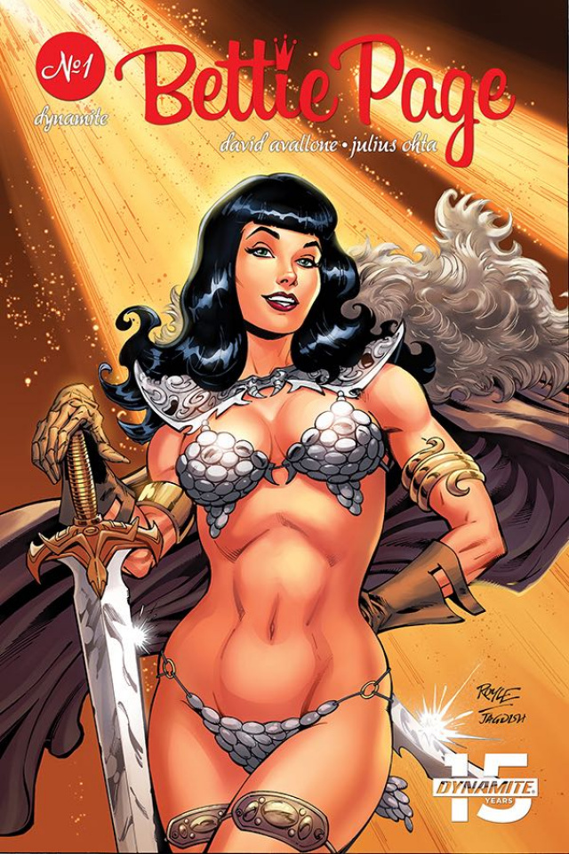 Bettie Page: Unbound #1 (Royle Cover)