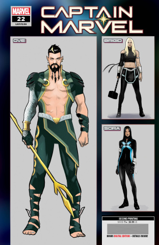 Captain Marvel #22 (2nd Printing)