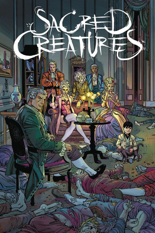 Sacred Creatures #1 (Janson Cover)