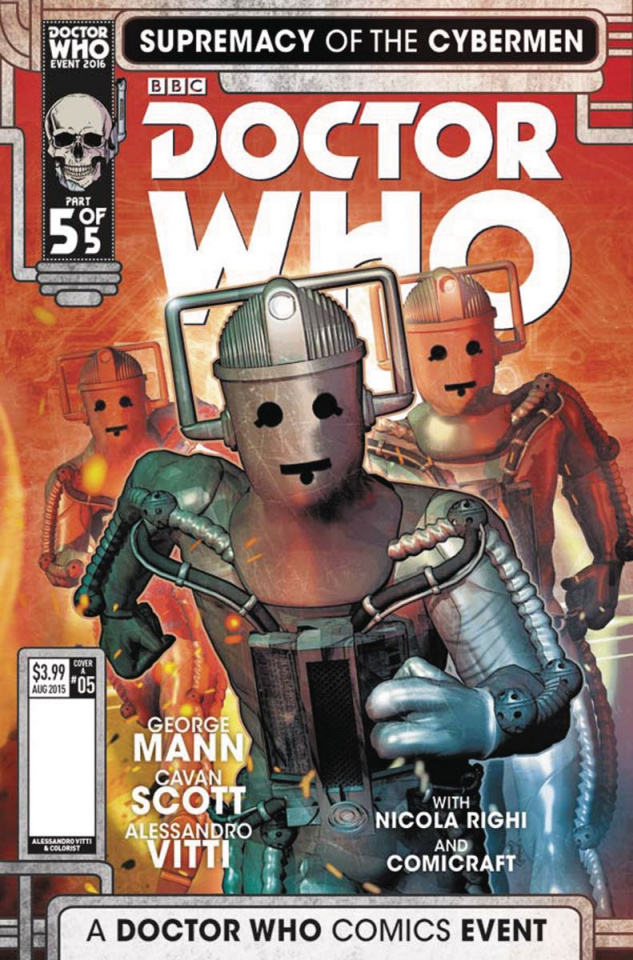 Doctor Who: Supremacy of the Cybermen #5 (Listran Cover)