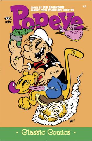 Popeye Classics #51 (10 Copy Cover)