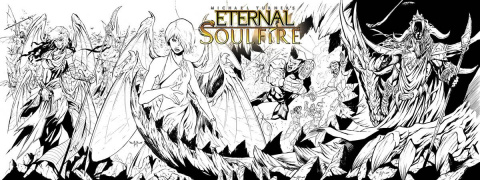 Eternal: Soulfire #4 (Direct Market Cover A)