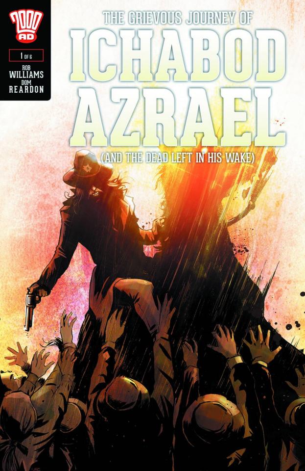 The Grievous Journey of Ichabod Azrael #1 (Garbett Cover)