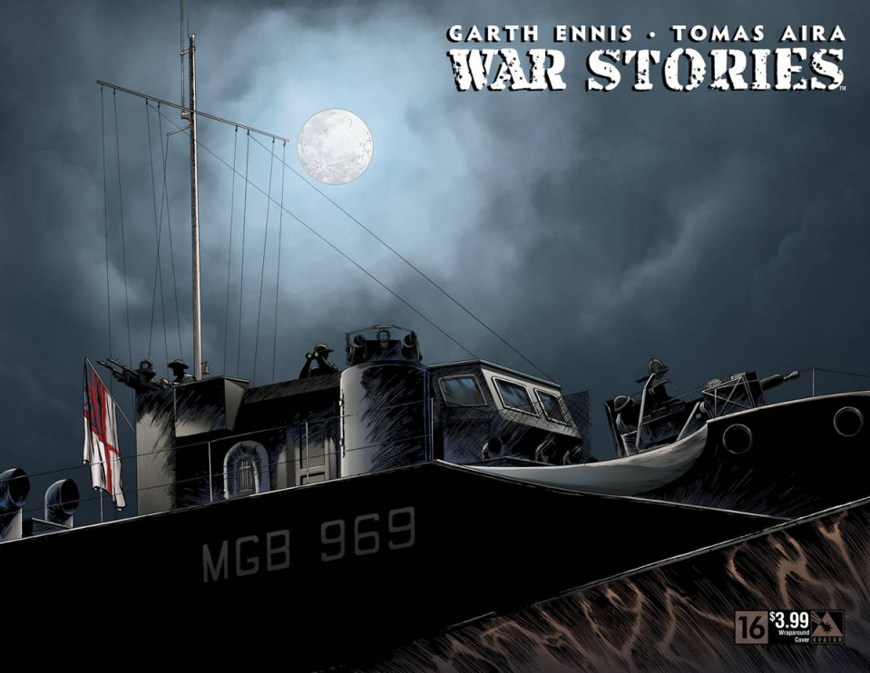 War Stories #16 (Wrap Cover)