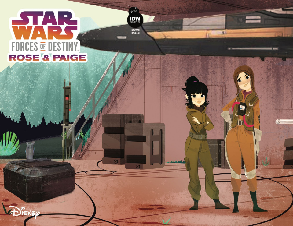 Star Wars Adventures: Forces Of Destiny - Rose & Paige (10 Copy Cover)