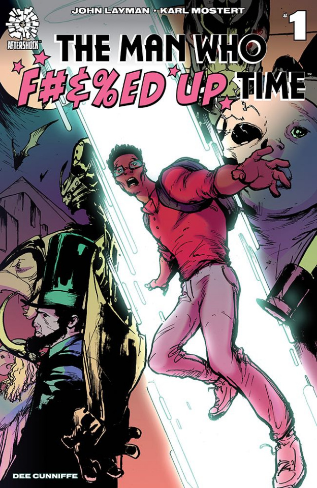 The Man Who Effed Up Time #1 (15 Copy Stroman Cover)