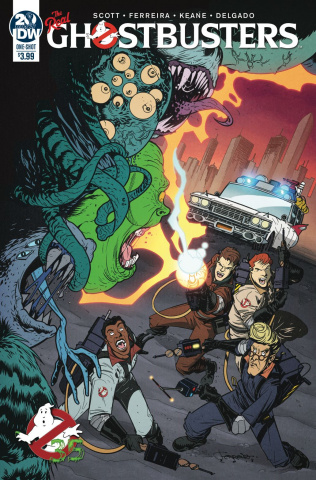 Ghostbusters 35th Anniversary (Real Ghostbusters Ferreira Cover)