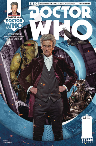 Doctor Who: New Adventures with the Twelfth Doctor, Year Three #3 (Photo Cover)