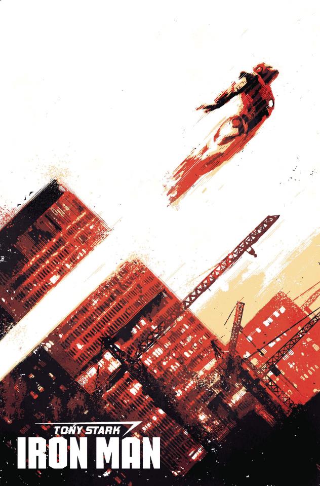 Tony Stark: Iron Man #1 (Aja Cover)