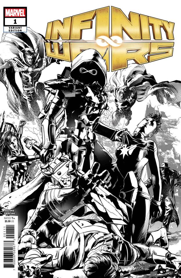 Infinity Wars #1 (Deodato 2nd Printing)
