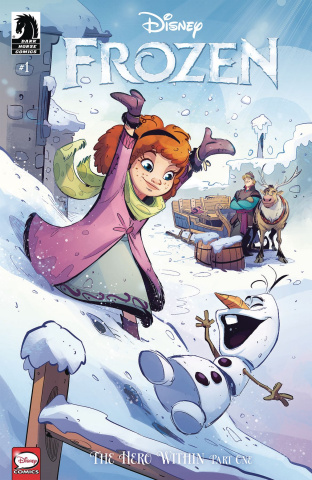 Frozen: The Hero Within #1 (Kawaii Creative Studio Cover)