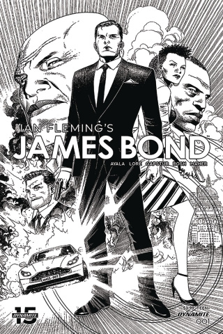 James Bond #1 (10 Copy Cheung B&W Cover)