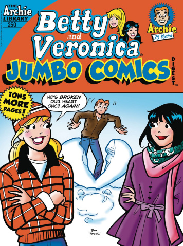 Betty & Veronica Jumbo Comics Digest #250
