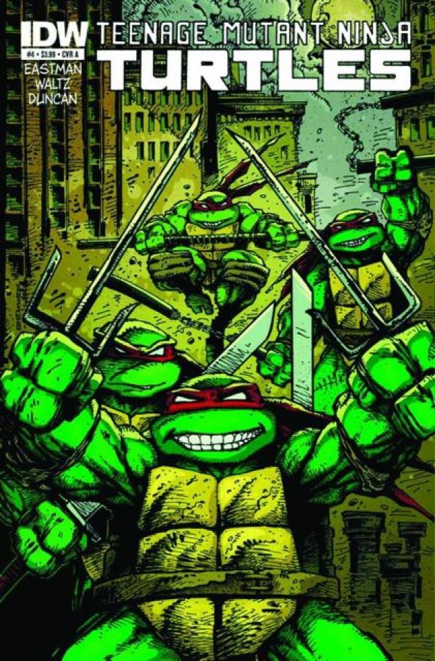 Teenage Mutant Ninja Turtles #4 (Global Conquest Edition)