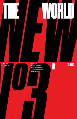 The New World #3 (Muller Cover)