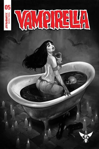 Vampirella #5 (20 Copy Dalton B&W Cover)