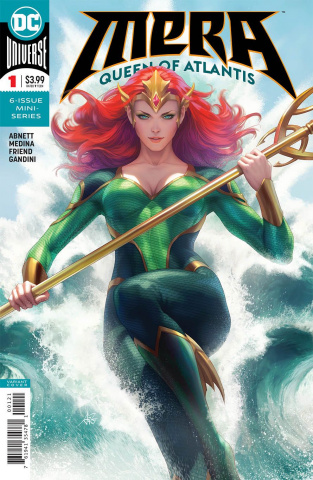 Mera: Queen of Atlantis #1 (Variant Cover)