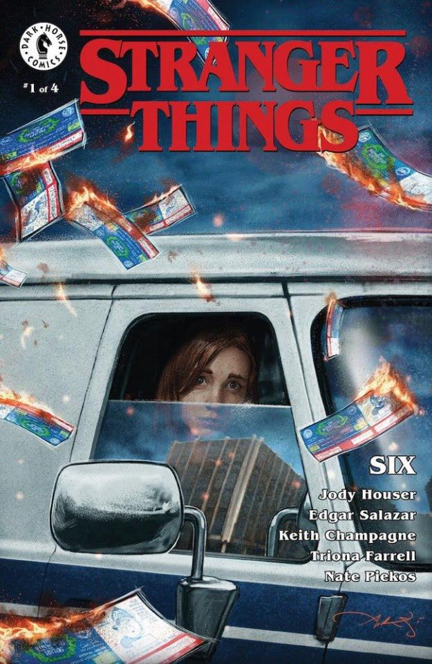 Stranger Things: Six #1 (Briclot Cover)