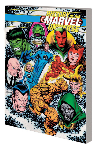 History of the Marvel Universe (McNiven Cover)