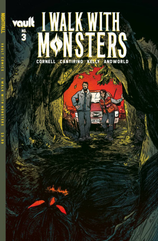 I Walk With Monsters #3 (Cantirino Cover)