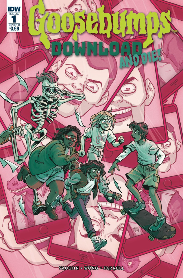Goosebumps: Download and Die! #1 (Franquiz Cover)