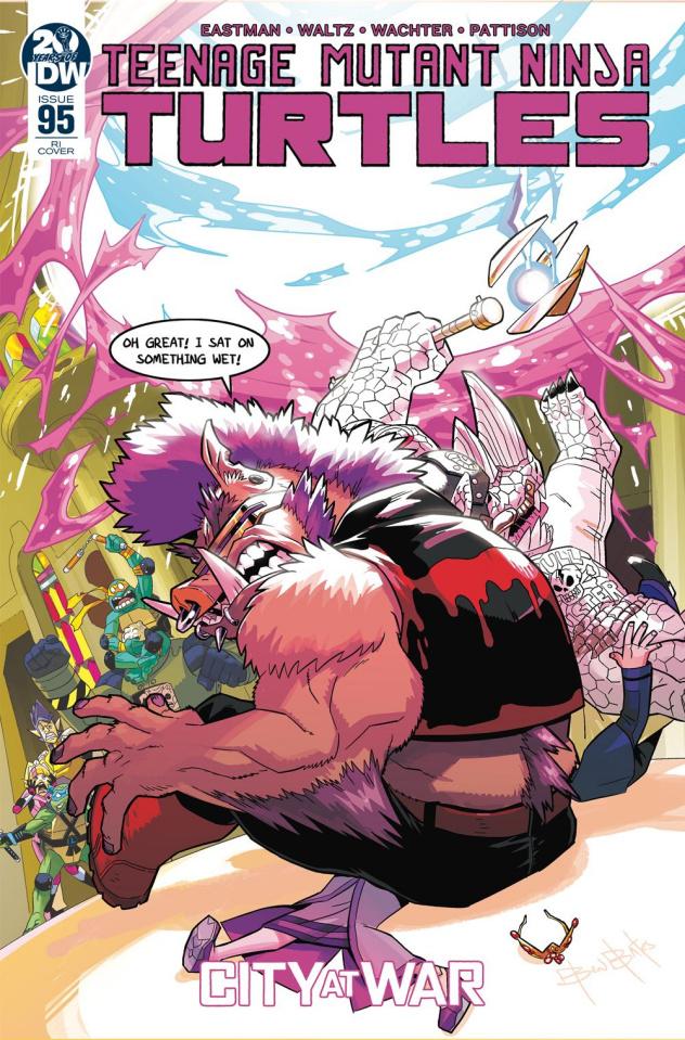 Teenage Mutant Ninja Turtles #95 (10 Copy Bates Cover)