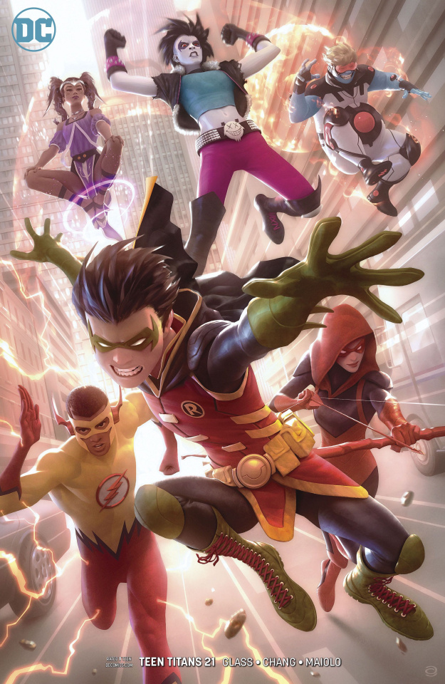 Teen Titans #21 (Variant Cover)
