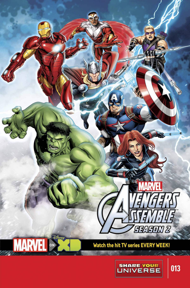 Marvel Universe: Avengers Assemble, Season Two #13
