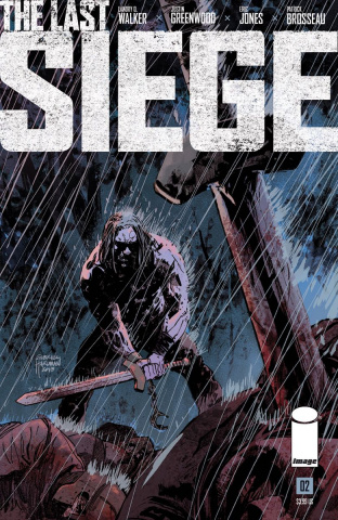 The Last Siege #2 (Hardman Cover)